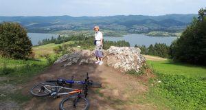 2020.09.23 Akcja rowerowa w rejonie Zalewu Czorsztyńskiego