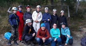 2020.09.24 Jaskinia w Trzech Kopcach - akcja kursowa